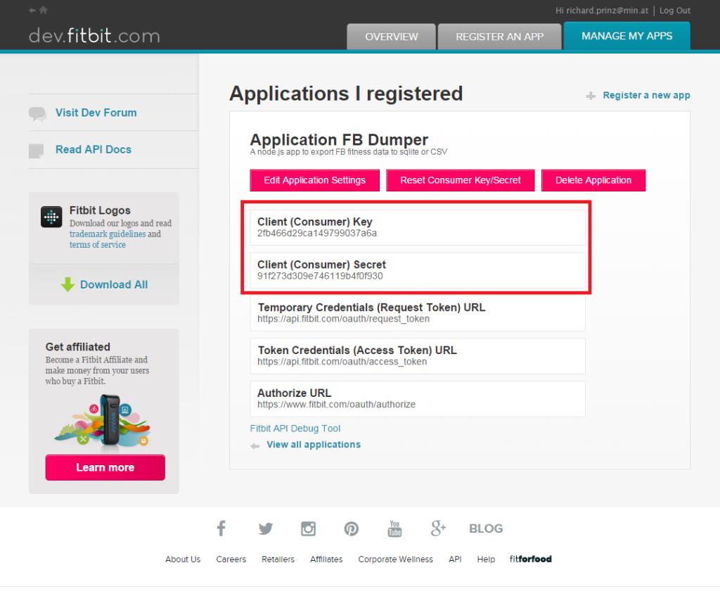 Frankford De Read Consumer: FitBit Data Export Using Node.js And A Raspberry PI