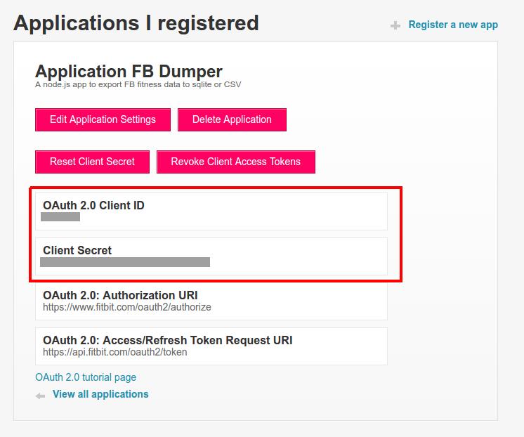 FitBit data export using node js - update » Richard J  Prinz