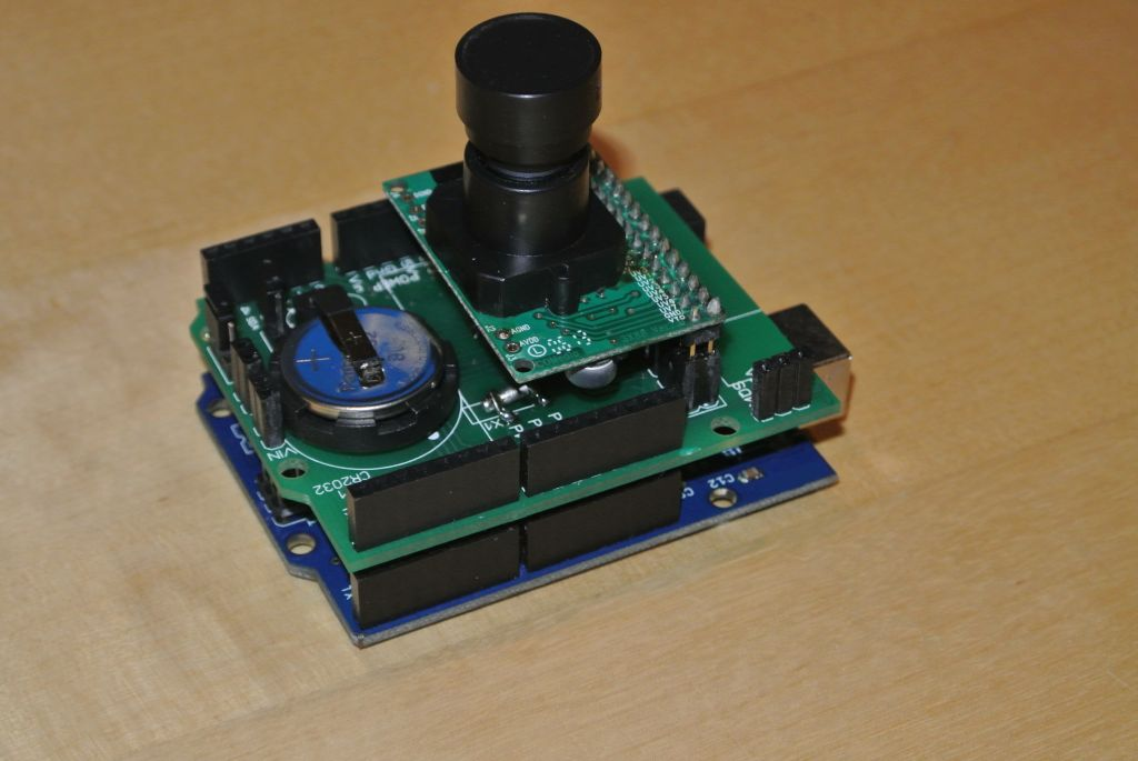 Arduino camera shield