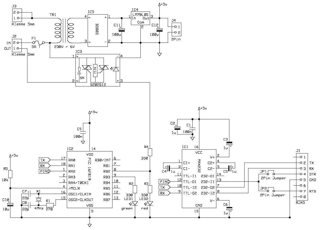 WatchDog schematic